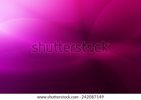 pink to purple gradient with swirl and curve abstract background - stock photo