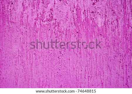 Pink Wall concrete texture - stock photo