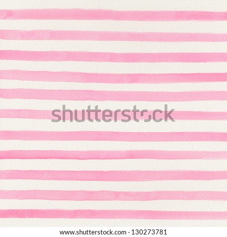 Pink watercolor background - stock photo