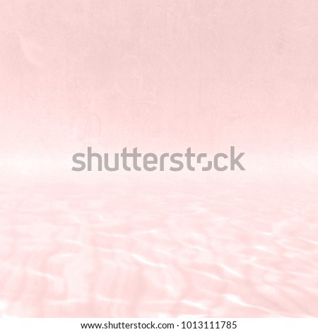 Pink watercolor background with soft blurred pastel water texture