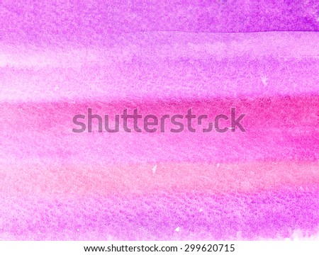 Pink watercolour background  - stock photo