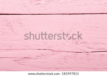 Pink wood background. Vintage olg backgdrop. Pastels color. - stock photo