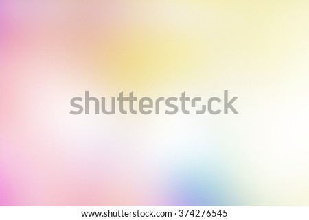 Pink, yellow, and blue tones used to create abstract background  - stock photo