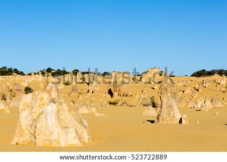 Pinnacles Desert, Nambung, north Perth. Western Australia
