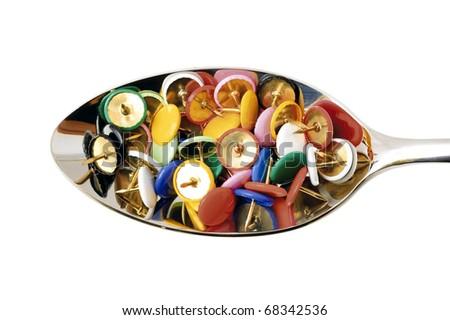 pins - stock photo