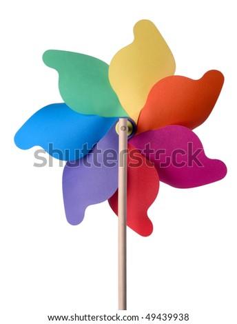 pinwheel - stock photo