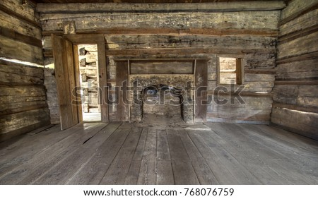Cabin stock images royalty free images vectors for Privately owned cabins in the smoky mountains