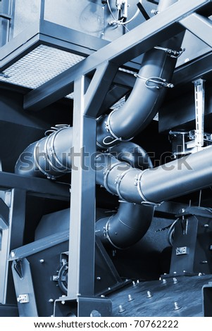 pipe system - stock photo