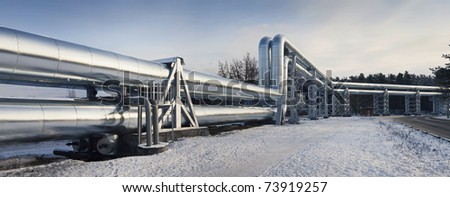 Pipelines - stock photo
