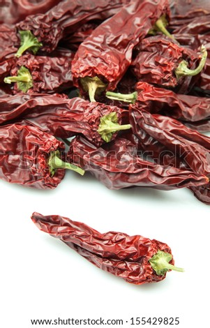 piquant dry peppers to eat