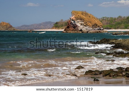 Pirate's Bay, Costa Rica - stock photo