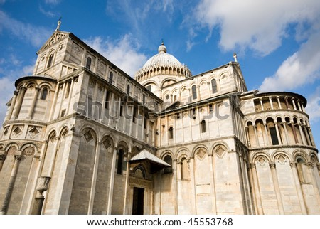 Pisa Cathedral (Catedral de Pisa), Italy