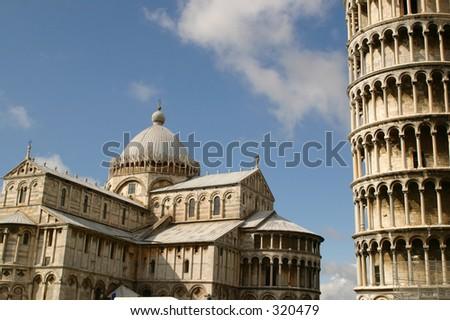 Pisa Center - stock photo