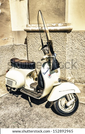 italian vespa stock images royalty free images vectors shutterstock. Black Bedroom Furniture Sets. Home Design Ideas