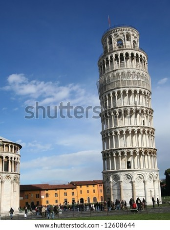 Pisa leaning tower #6 - stock photo