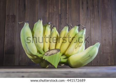 Pisang Awak banana - stock photo