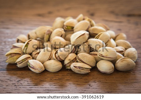 pistachio nuts in their shells