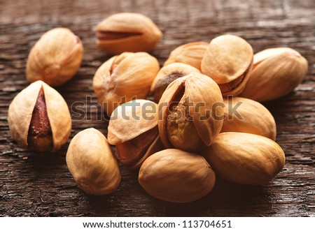 Pistachios - stock photo