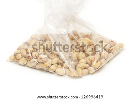 pistachios in a package