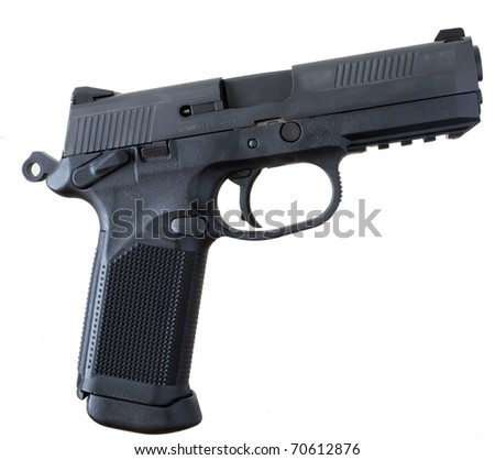 pistol that has a polymer frame and steel slide
