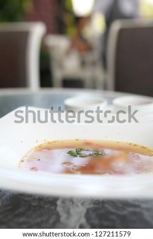 Pistou Soup - stock photo