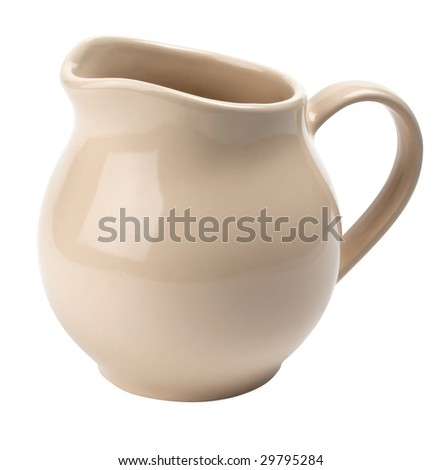 pitcher ceramics for milk