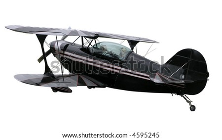 Pitts Special Aerobatic Biplane - stock photo