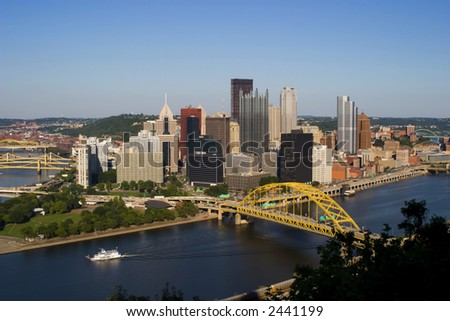 Pittsburgh Downtown - stock photo