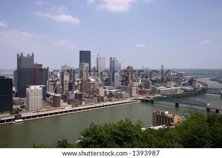 Pittsburgh, Pennsylvania - stock photo