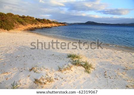 Pittugongo beach, Sardinia island, Italy - stock photo