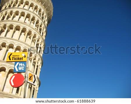 Piza Tower - stock photo