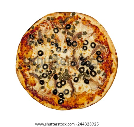Pizza - stock photo