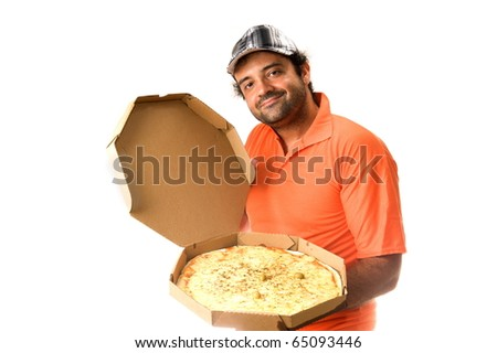 Pizza Delivery - stock photo