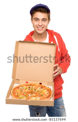 pizza delivery stock images royalty free images vectors. Black Bedroom Furniture Sets. Home Design Ideas