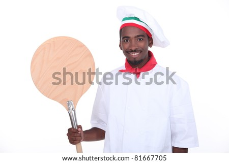 Pizza maker - stock photo