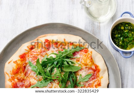 flatbread pizza stock images royalty free images vectors shutterstock. Black Bedroom Furniture Sets. Home Design Ideas