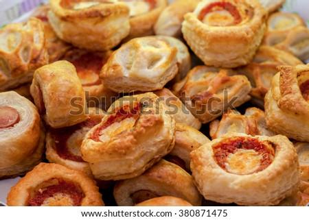 Pizzas - stock photo