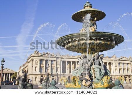 Place de la Concorde, Paris - stock photo