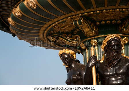Place de la Concorde Paris - stock photo