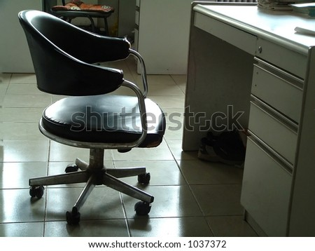 place for study - stock photo