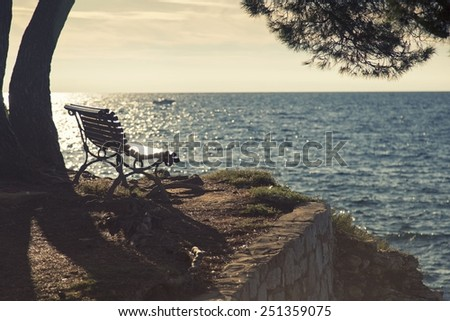 Place for us - stock photo