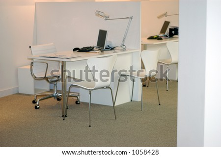 place for work - stock photo