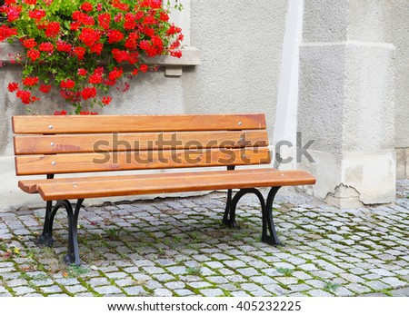 Place of rest, bench