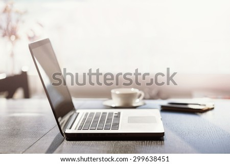 Place of work - stock photo
