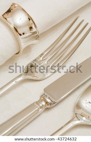 Place setting - stock photo