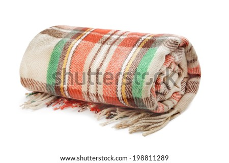 Plaid - stock photo