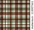 Plaid  background in grey, brown, white - stock vector