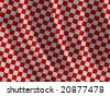 plaid fabric texture - stock vector