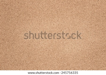 plain cork pin board - stock photo