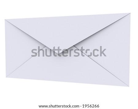 Plain envelope - stock photo